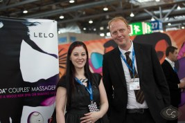 With Peter from LELO