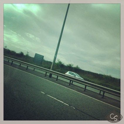 Long drive to London
