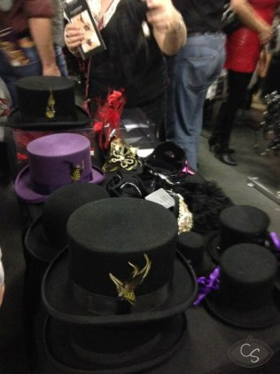 Top hats and miniatures
