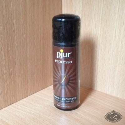 Pjur Espresso Powered by Caffeine Water Based Sex Lubricant Review