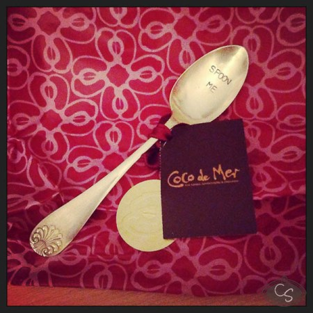 Coco de Mer silver plated 'Spoon Me' coffee spoon review