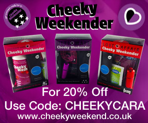 Introducing New Cheeky Weekenders Portable Pleasure Packs (And A Special Offer Too)