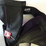 Titus leather jock strap pants XL review
