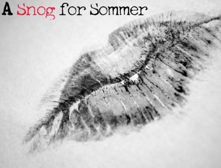 A snog for Sommer Marsden