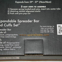 sportsheets spreader bar and cuffs set-8