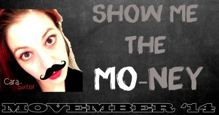 Grow your Mo for Movember 2014