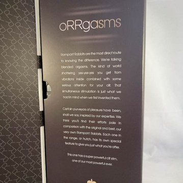 Ann Summers The Mighty One Rabbit Vibrator - cara sutra review-4