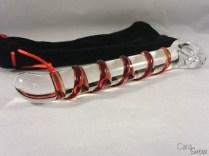 candy cane glass dildo review - CS-3
