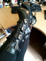 demonia muerto boots cara sutra wearing review 800-1