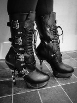 demonia muerto boots cara sutra wearing review 800-27