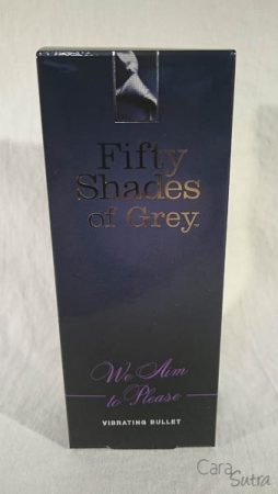 Fifty Shades of Grey We Aim To Please Bullet Vibrator Review