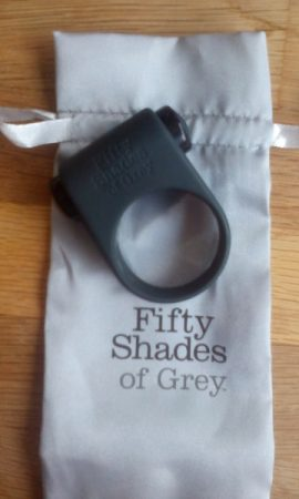 Fifty Shades of Grey Feel it Baby Vibrating Cock Ring Review