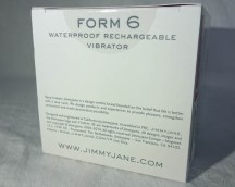 Jimmyjane FORM 6 six vibrator - cara sutra review-8