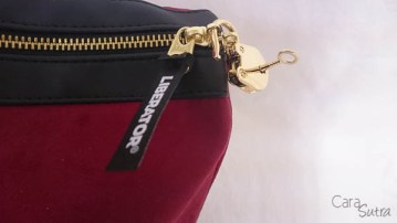 liberator red lockable sex toys storage bag - cara sutra review-8