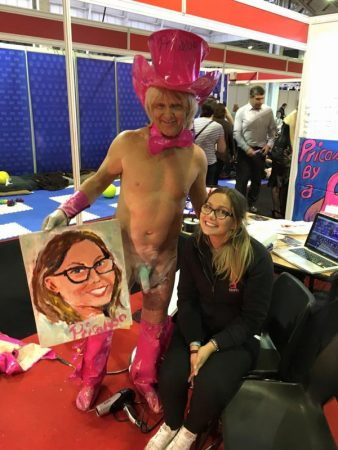 pricasso and kerri from simplypleasure at sexpo uk 2015