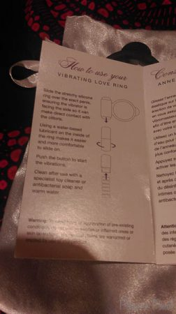 Fifty Shades Of Grey Vibrating Love Ring Cara Sutra Pleasure Panel Review pinkgilly15-4