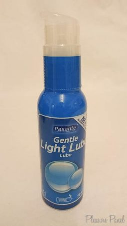 Pasante Gentle Light Lube Cara Sutra Pleasure Panel Review