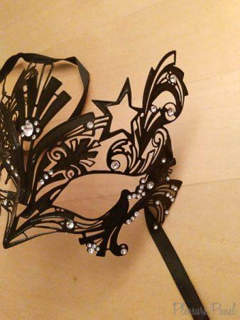 Black Filigree Masquerade Mask Liona Sassy Amour Cara Sutra Pleasure Panel Review-3