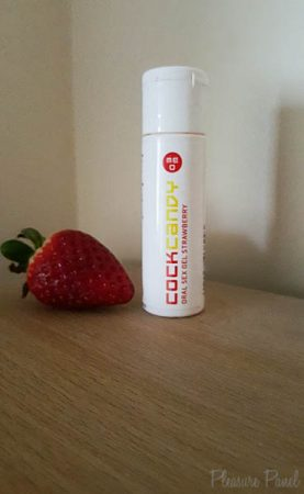Cock Candy Strawberry Flavoured Lube Review Cara Sutra Pleasure Panel-2
