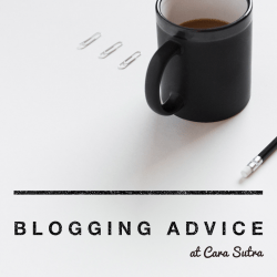 blogging advice at Cara Sutra sex blog pages