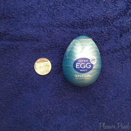 TENGA Egg Wavy Cool Edition Review Pleasure Panel Candy Snatch-3
