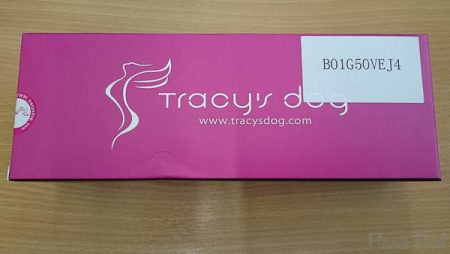 B01G50VEJ4 Tracy's Dog Liquid Silicone Dildo with Suction Cup in Rose Red