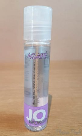 System JO Agapé Sensitive Water Based Lube Review-1