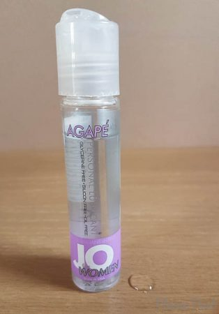 System JO Agapé Sensitive Water Based Lube Review-3