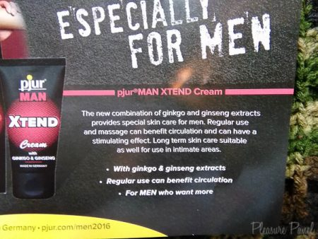 Pjur Man Xtend Cream Review