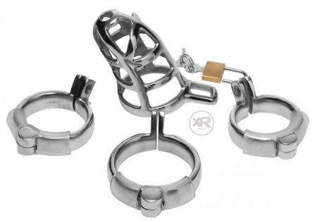 Extreme Restraints Stainless Steel Chastity Cock Cage Review