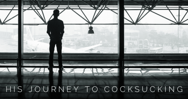 His Journey To Cocksucking FemDom Forced Bi Erotic Story