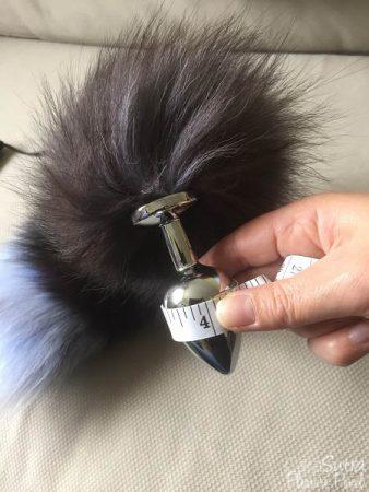 Loving Joy Furry Fantasy Black Fox Tail Butt Plug Review