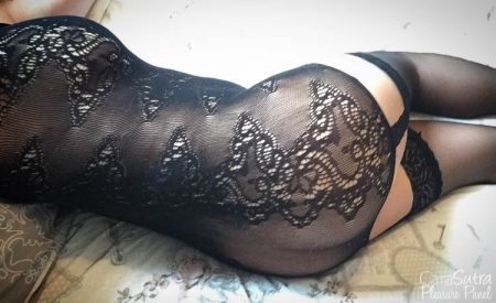 Seven til Midnight Floral Seamless Cami Bodystocking Review