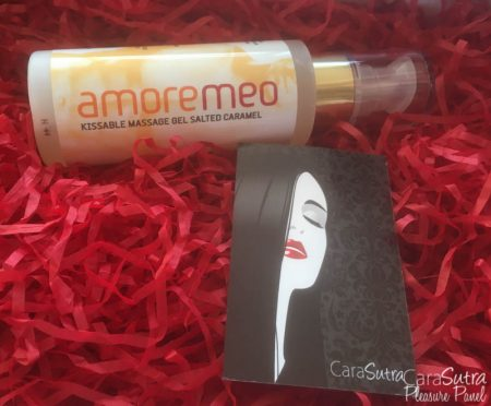 AMOREMEO Salted Caramel Kissable Massage Gel Review
