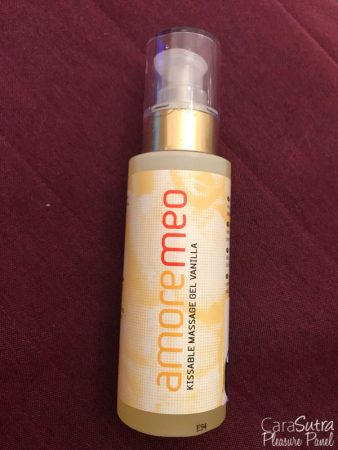 AMOREMEO Vanilla Kissable Massage Gel Review
