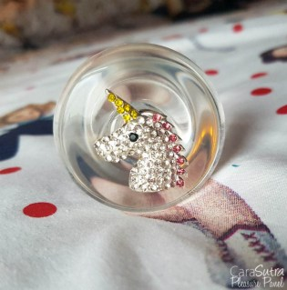 Crystal Delights Medallion Plug Unicorn Heart and Hello Kitty Butt Plug Review-8