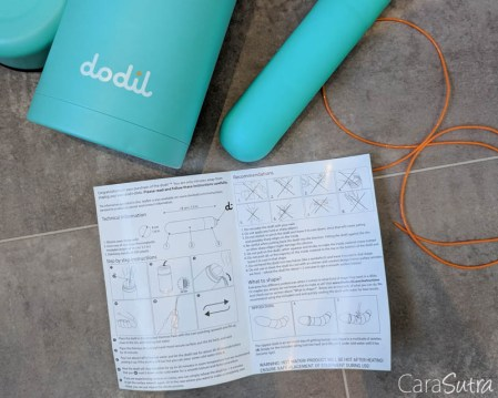 The Dodil Review Dodil Dildo Shapeable Mouldable Dildo TWO-5