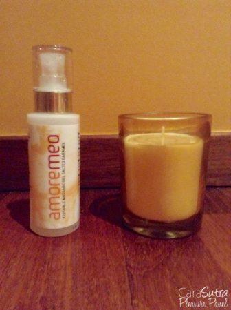 AMOREMEO Salted Caramel Kissable Massage Gel Review