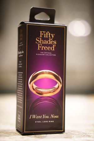 Fifty Shades Freed I Want You Now Steel Love Ring Review