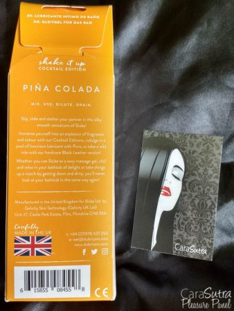 Slube Slubricant Cocktail Edition Pina Colada Bath Based Lube Review