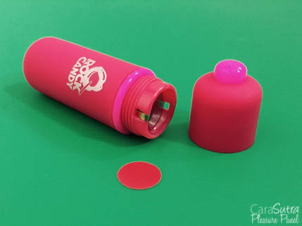 Rock Candy Red Waterproof Mini Bullet Vibrator Review