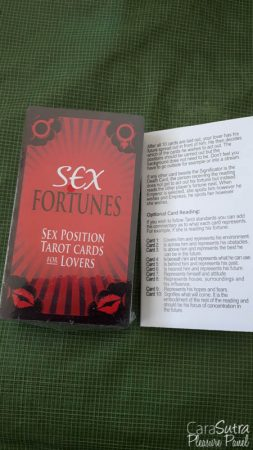 Kheper Games Sex Fortunes Erotic Tarot Card Game Review
