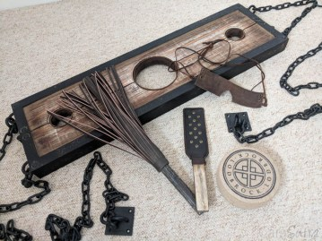 Lodbrock Handmade Wooden BDSM Pillory Set Review-33