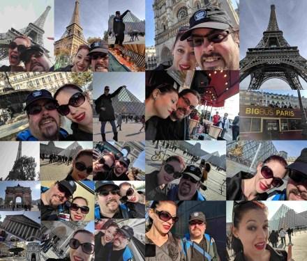 Paris Saturday Day Collage