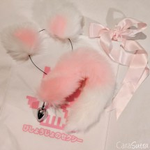 DDLG Cute Ears and Butt Plug Tail Review-9