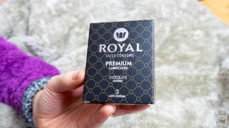 Royal Condoms Chocolate Flavour 3 Pack Review