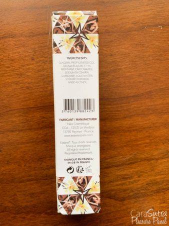 EXSENS Play Hot Vanilla Espresso Flavour Arousal Gel 15ml Review