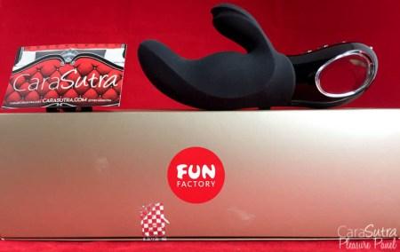 Fun Factory Black Line Miss Bi Dual Vibrator