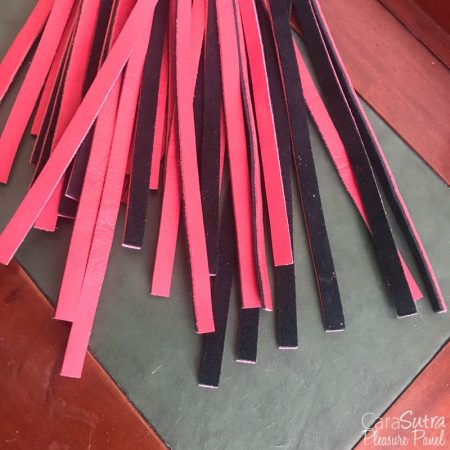 Jiahao Faux Leather Red And Black Flogger Review