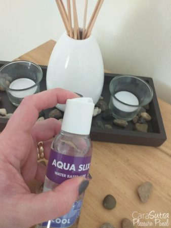 Kinx Aqua Slix Cooling Water-Based Lubricant Review